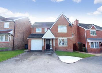Thumbnail 4 bed detached house for sale in Durham Drive, Lightwood, Longton, Stoke-On-Trent