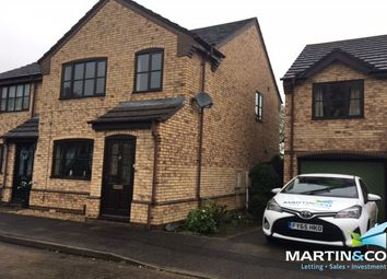 Thumbnail 3 bed semi-detached house to rent in The Sidings, Saxilby, Lincoln