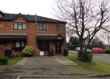 Thumbnail 1 bed town house to rent in Aldridge Close, Birchmoor, Tamworth