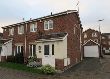 Thumbnail 3 bed semi-detached house for sale in Blacksmith Mews, Robin Hood, Wakefield