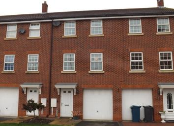 Thumbnail 3 bed terraced house for sale in Swindale Close, West Bridgford, Nottingham, Nottinghamshire