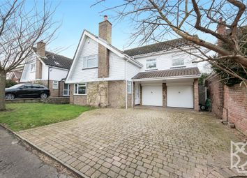 Thumbnail 4 bed detached house for sale in Lexden Grove, Lexden, Colchester
