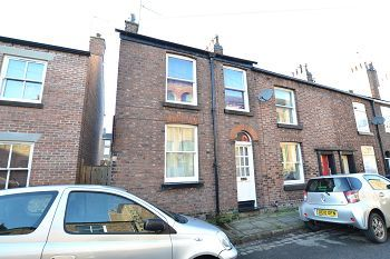 Thumbnail 2 bed end terrace house for sale in Lord Street, Macclesfield