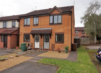 Thumbnail 2 bed semi-detached house for sale in Grissom Close, Stafford