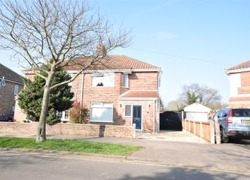 Thumbnail 3 bedroom semi-detached house for sale in Brian Avenue, Norwich, Norfolk