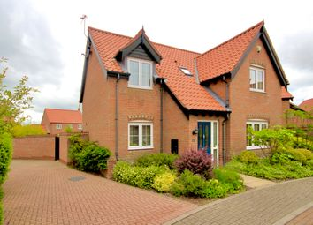 Thumbnail 4 bed detached house for sale in Shire Close, Hemsby, Great Yarmouth
