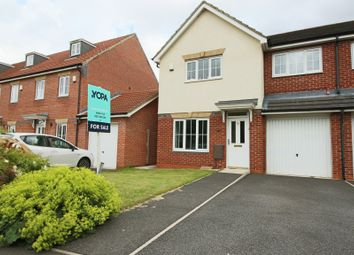 Thumbnail 3 bed semi-detached house for sale in Blackfriars Way, Longbenton, Newcastle Upon Tyne
