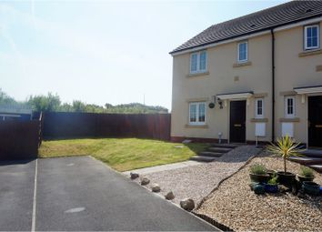 Thumbnail 3 bed semi-detached house for sale in Heol Waunhir, Carway, Trimsaran