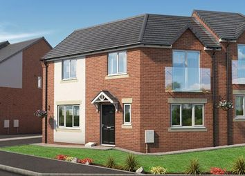 "Thumbnail 3 bed property for sale in ""The Oak At The Pinders"" at Coach Road, Throckley, Newcastle Upon Tyne"