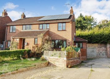 Thumbnail 3 bed semi-detached house for sale in Cullings Hill, Postwick, Norwich