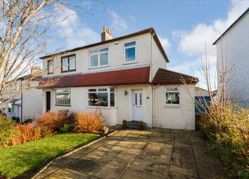 Thumbnail 3 bed semi-detached house for sale in Braefield Drive, Thornliebank, Glasgow