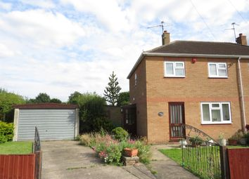 Thumbnail 2 bed semi-detached house for sale in Holt Close, North Hykeham, Lincoln