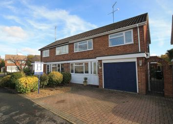 Thumbnail 3 bed semi-detached house for sale in Chartwell, Frimley Green, Camberley