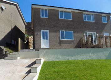 Thumbnail 3 bed semi-detached house for sale in St. Annes Gardens, Abertridwr, Caerphilly