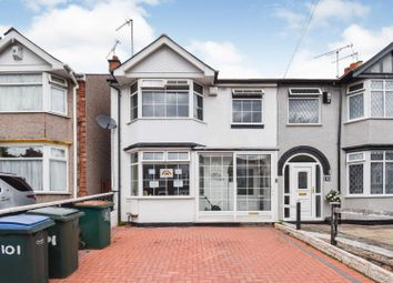 Thumbnail 3 bed end terrace house for sale in Tennyson Road, Coventry