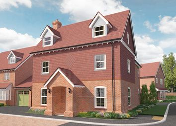 Thumbnail 4 bed detached house for sale in Crockford Lane, Basingstoke