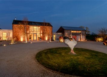 Thumbnail 5 bed barn conversion for sale in Goadby Road, Hallaton, Market Harborough, Leicestershire