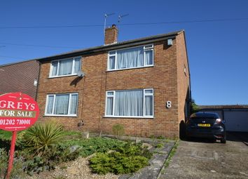 Thumbnail 3 bedroom semi-detached house for sale in Madeline Crescent, Parkstone, Poole
