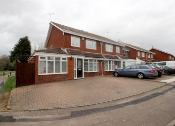 Thumbnail 4 bed semi-detached house for sale in Ashdown Close, Binley, Coventry