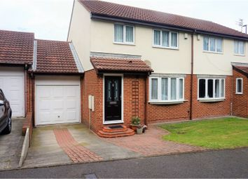 Thumbnail 3 bed semi-detached house for sale in Rodney Close, Tynemouth