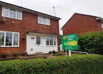 Thumbnail 4 bed semi-detached house for sale in Maendy Way, Pontnewydd, Cwmbran