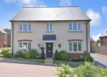Thumbnail 4 bed detached house for sale in Markwells Walk, Clanfield, Waterlooville, Hampshire