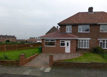 Thumbnail 4 bed semi-detached house for sale in Parkhead Gardens, Blaydon