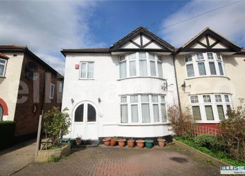 Thumbnail 3 bed semi-detached house for sale in Devonshire Road, Mill Hill, London