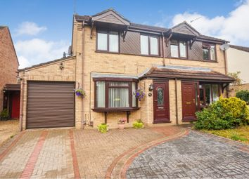 Thumbnail 3 bed semi-detached house for sale in Chedworth Close, Lincoln