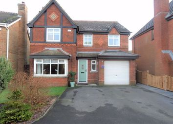Thumbnail 4 bed detached house for sale in Dewberry Fields, Upholland