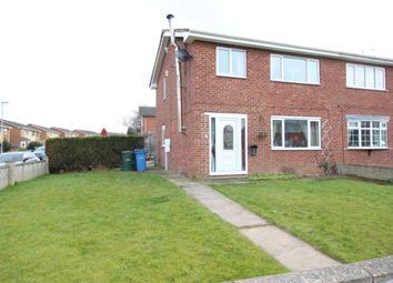 Thumbnail 3 bed semi-detached house for sale in Sutherland Close, Costhorpe, Worksop