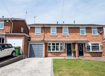 Thumbnail 4 bed semi-detached house for sale in Hawks Close, Cheslyn Hay, Walsall