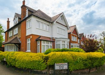 Thumbnail 3 bed flat for sale in Teignmouth Road, London