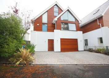 Thumbnail 4 bedroom detached house for sale in Over Links Drive, Lower Parkstone, Poole, Dorset