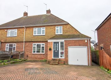 Thumbnail 5 bed semi-detached house for sale in Brompton Farm Road, Strood, Rochester