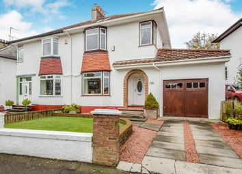 Thumbnail 4 bed semi-detached house for sale in Greenwood Road, Clarkston, Glasgow