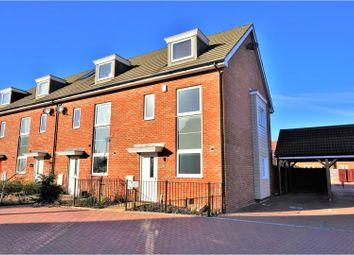 Thumbnail 4 bed end terrace house for sale in Quartz Way, Sittingbourne