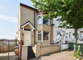 Thumbnail 3 bed end terrace house for sale in Garden Road, Folkestone