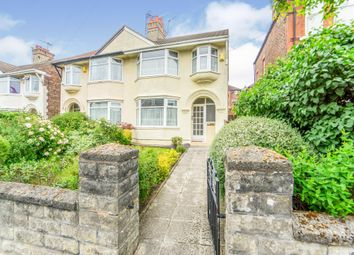 Thumbnail 3 bedroom semi-detached house for sale in Clare Crescent, Wallasey