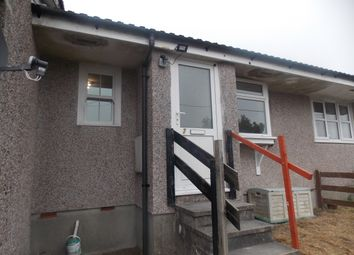 Thumbnail 2 bed terraced bungalow to rent in Chegwyns Hill, Foxhole, St. Austell