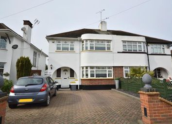 Thumbnail 3 bedroom semi-detached house for sale in Thorpe Bay, Essex