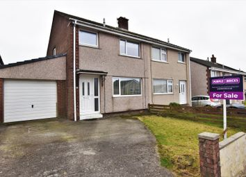 3 bed semi-detached house for sale in Wordsworth Road, Whitehaven CA28