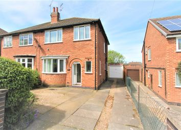 Thumbnail 3 bed semi-detached house for sale in Fiona Drive, Thurnby, Leicester