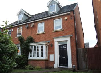 Thumbnail 3 bed semi-detached house to rent in Campion Grove, Kirkby, Liverpool