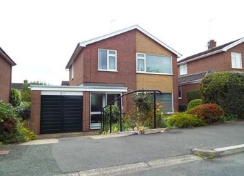 Thumbnail 3 bed detached house for sale in Pont Adam Crescent, Ruabon, Wrexham