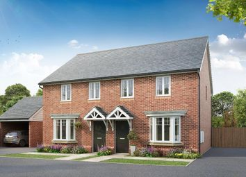 "Thumbnail 3 bedroom semi-detached house for sale in ""Langham"" at Barnhorn Road, Bexhill-On-Sea"