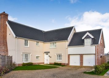 Thumbnail 5 bed detached house for sale in Broomefield Road, Stoke Holy Cross, Norwich