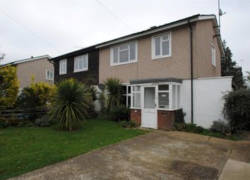 Thumbnail 3 bed semi-detached house to rent in Waltham Crescent, Southend-On-Sea