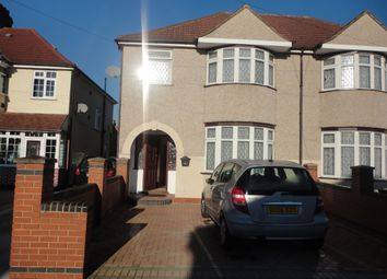 Thumbnail 4 bed semi-detached house to rent in Connaught Avenue, Hounslow