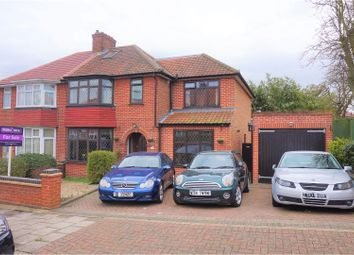 Thumbnail 4 bedroom semi-detached house for sale in Ennerdale Drive, London